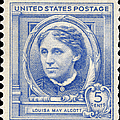 Louisa May Alcott (1832-1888) by Granger