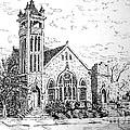 Louisianna Church 1 by Gretchen Allen