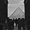 Louvre Archway by Eric Tressler
