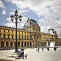 Louvre Museum by Elena Elisseeva
