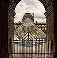 Louvre Museum by Jon Berghoff