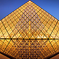 Louvre Pyramid by Brian Jannsen