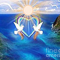 Love Doves by Belinda Threeths