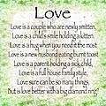 Love Poem In Green by Andee Design