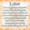 Love Poem In Orange by Andee Design