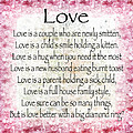 Love Poem In Pink by Andee Design