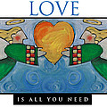 Love Is All You Need Poster by Tim Nyberg