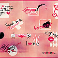 Love Words - Valentine's Card by Aimelle