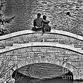 Lovers On A Bridge  by Traci Cottingham