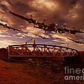 Low Flying Over Rawcliffe Bridge by Nigel Hatton