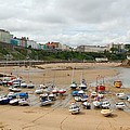 Low Tide At Tenby by Tam Ryan