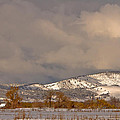 Low Winter Storm Clouds Colorado Rocky Mountain Foothills 2 by James BO  Insogna