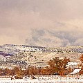 Low Winter Storm Clouds Colorado Rocky Mountain Foothills 6 by James BO  Insogna