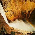 Lower Falls Yellowstone River by Jeff Swan