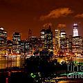 Lower Manhattan From Brooklyn Promenade by Greg Norrell