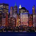 Lower Manhattan by Rick Berk