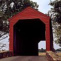 Loy's Station Covered Bridge by Sally Weigand