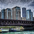 Lsd Lake Shore Drive In Color by Scott Wood