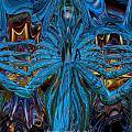 Lsd Neon Flower Fx  by G Adam Orosco