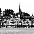 Lucerne In Monochrome by Pravine Chester