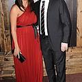 Luciana Barroso, Matt Damon At Arrivals by Everett