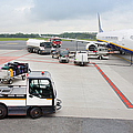 Luggage Transported To An Airprot by Jaak Nilson