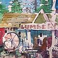 Lumber Mill by Micheal Jones