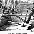 Lumbering: Saw, 1879 by Granger