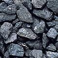 Lumps Of High-grade Anthracite Coal by Kaj R. Svensson