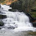 Lumsdale Waterfall by Steev Stamford