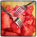 #lunch #watermelon With My #mommy <3 by Nena Alvarez