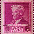 Luther Burbank Postage Stamp by James Hill