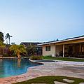 Luxury Backyard Pool And Lanai by Inti St. Clair