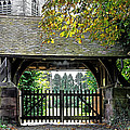 Lychgate To St Paul's Church - Scropton by Rod Johnson