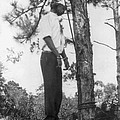 Lynched African American Man Hanging by Everett