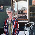 Lynne In My Studio by Ray Johnstone