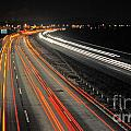 M5 At Night by Rob Hawkins