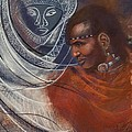 Maasai Prince by Pamela Mccabe
