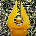 Mable Falls Golden Sculpture by Linda Phelps