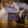 Mabry Mill by Lisa and Norman  Hall
