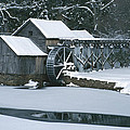 Mabry Mill Winter by Joe Elliott