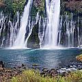 Macarthur-burney Falls Panorama by Greg Nyquist