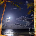 Maceio - Brazil - Ponta Verde Beach Under The Moonlit by Carlos Alkmin