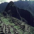 Machu Picchu, A Pre-columian Inca Ruin by Ira Block