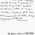 Madame De Stael Letter by Granger
