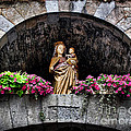 Madonna And Child Arch by Joan  Minchak