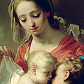 Madonna And Child by Gaetano Gandolfi