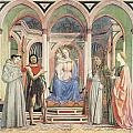Madonna And Child With Saints by Domenico Veneziano