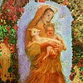 Madonna With Child by Cena Caterine