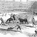 Madrid: Bullfight, 1846 by Granger